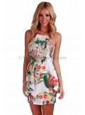 Wildflower peplum dress