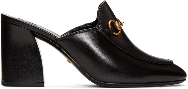 gucci loafers black shoes
