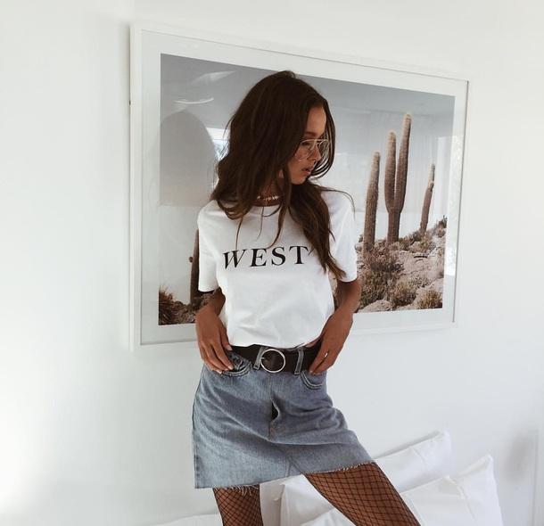 shirt belt skirt