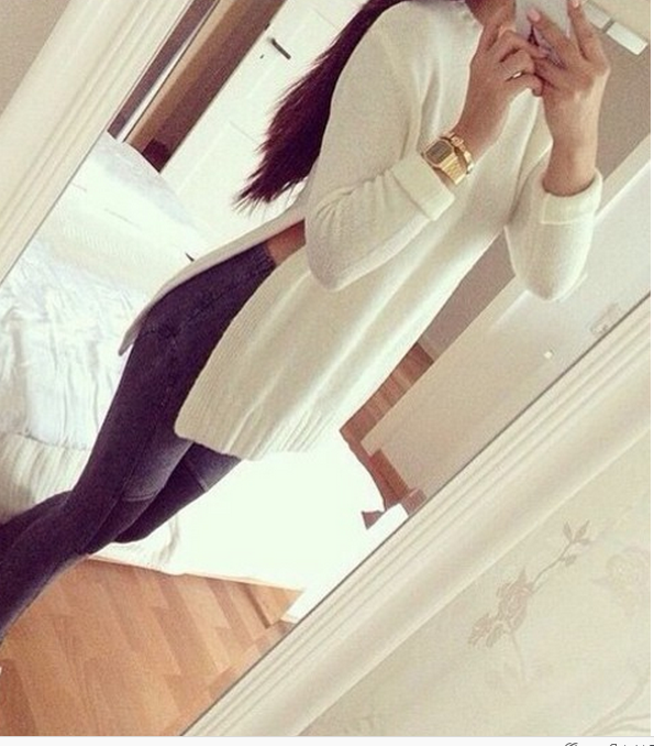 Cute fashion fork sweater