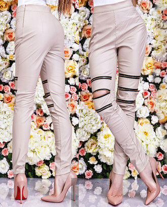 leggings outfi zefinka leather pants leather leggings outfit idea fall outfits