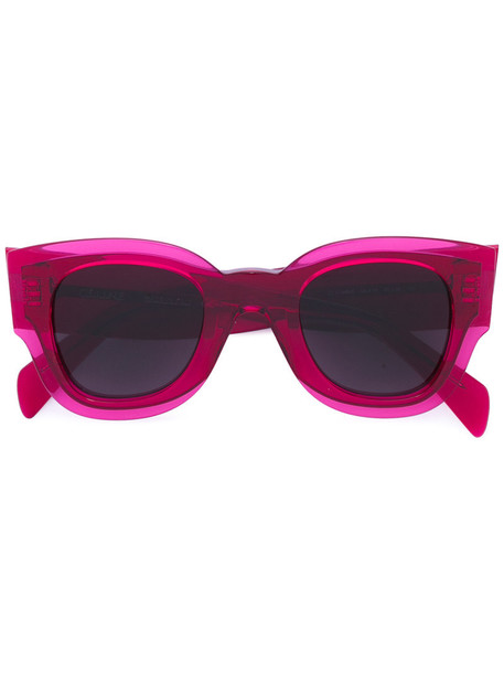 Céline Eyewear women sunglasses purple pink