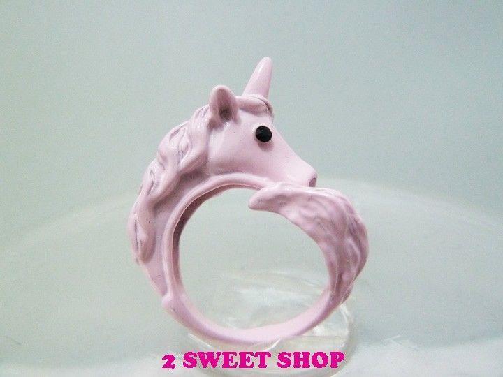 Japan ~ harajuku tokyo cute kawaii amo unicorn ring 3 colors
