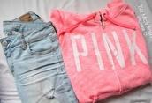 jacket,vs,hoodie,coat,zip,pink by victorias secret,vs angel