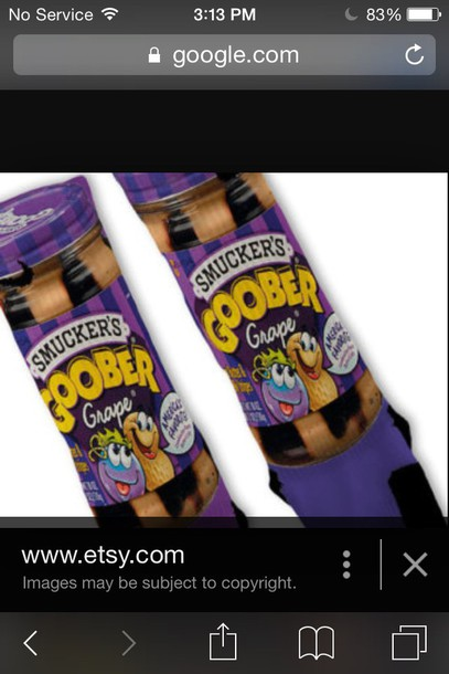 socks peanut butter and jelly