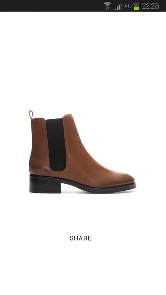 shoes cuir marron