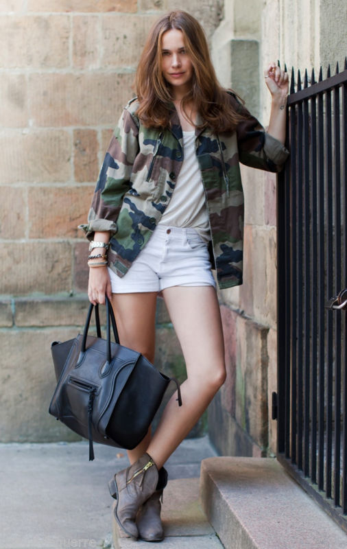 Lethalbeauty ? french army camouflage jacket