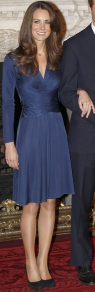 kate middleton royal wedding blue dress