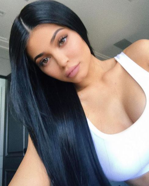top sportswear sports bra kylie jenner kardashians white top instagram