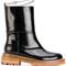 Marni - harness strap calf boots - women - calf leather/leather/rubber - 36, black, calf leather/leather/rubber
