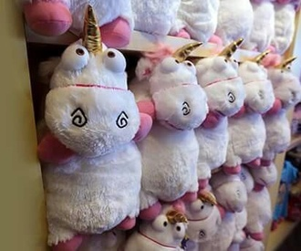 home accessory cute toy despicableme unicorn stuffed animal