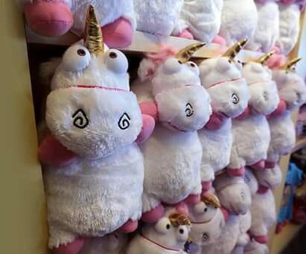 Despicable Me Unicorn Pillow Plush Universal Orlando