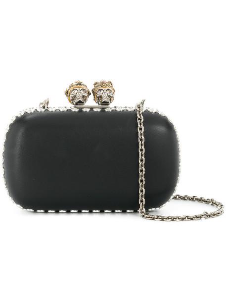 women king clutch black bag