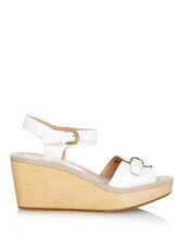 wedges,leather wedges,leather,white,shoes