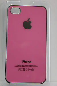 iPhone 4 4S Case with Apple Logo Back Cover Free Screen Protector Shipping | eBay