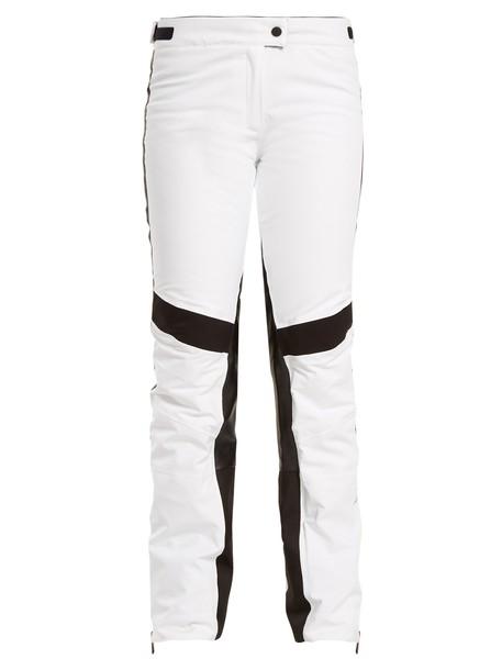 Lacroix white black pants