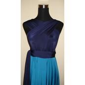 dress,teal,high-low dresses
