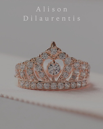 jewels ring tiara crown girly cute pretty princess gold