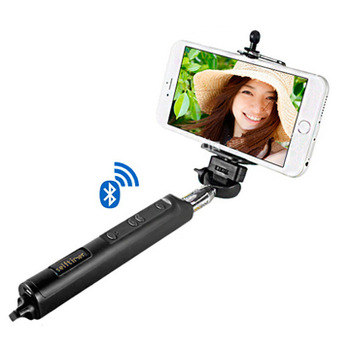 buy wireless bluetooth selfie sticks with four button 360 degree rotating. Black Bedroom Furniture Sets. Home Design Ideas