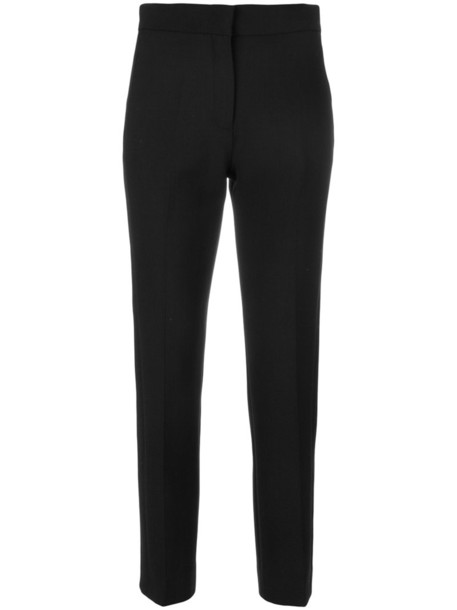 Victoria Victoria Beckham women cotton black wool pants