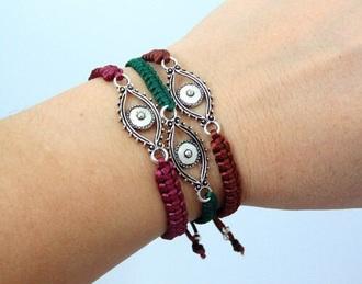 jewels bracelets eye greekeye greek greek eye jewel jewelry boho bohemian bohemiam