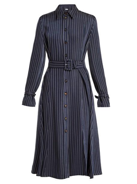 Altuzarra shirtdress navy dress