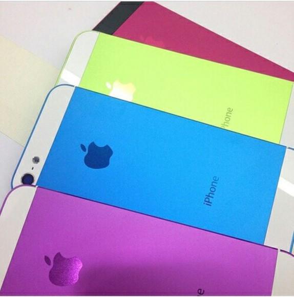 iphone case phone case sticker colorfull
