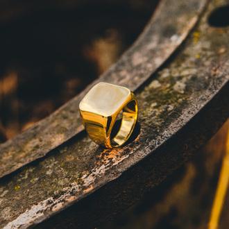 jewels ring gold akitsune minimalist jewelry