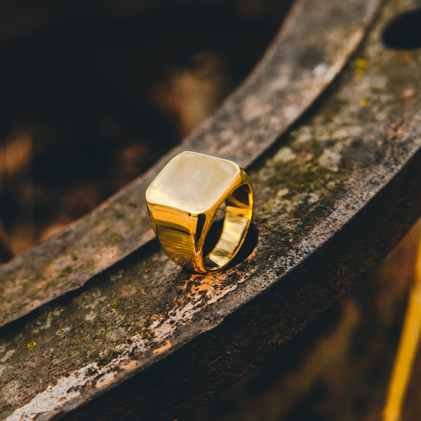 jewels ring gold akitsune minimalist jewelry