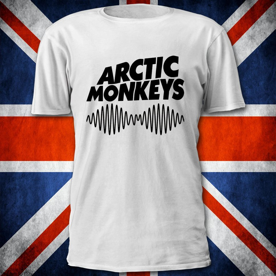 T shirt white ebay - Arctic Monkeys Am Logo T Shirt Mens Womens All Sizes New Album Ebay