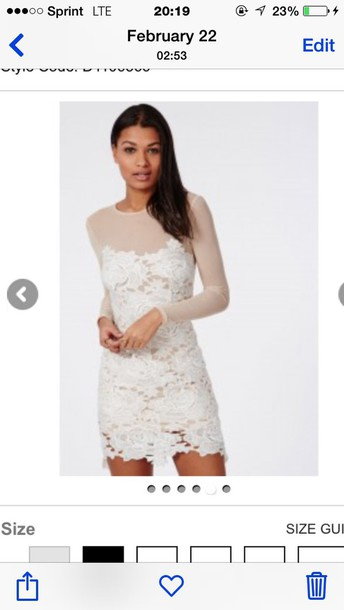 dress cream nude lace dress