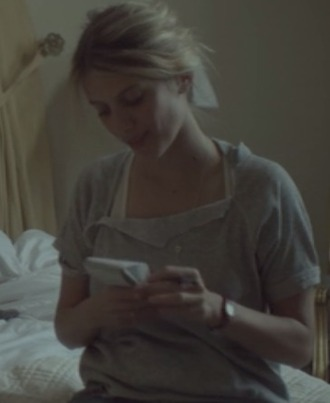 top mélanie laurent beginners gray