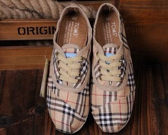shoes toms toms burberry