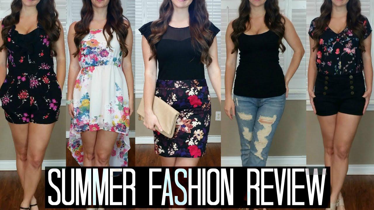 2015 Pinterest Inspired Summer Spring Clothing Haul