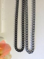 jewels,black chain,etsy,jewelry,trendy jewelry,chain jewelry,layering chains,layering necklace,gunmetal chain,gunmetal jewelry,trendy