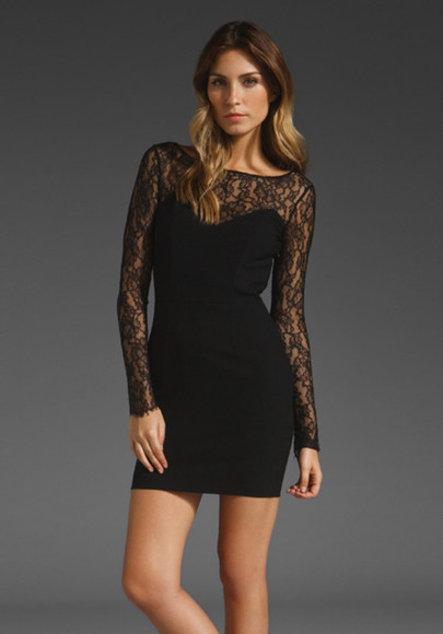 lauren conrad dress little black dress lace black lace dress