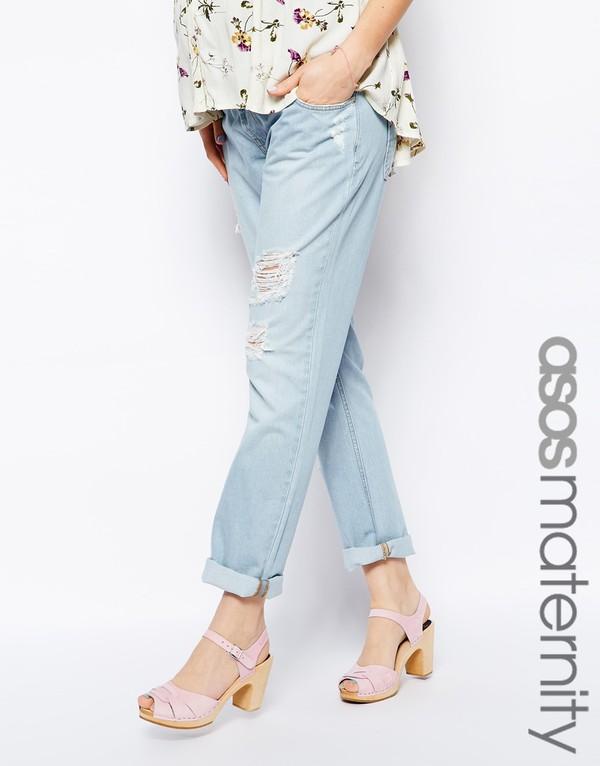 jeans asos asos maternity boyfriend jeans