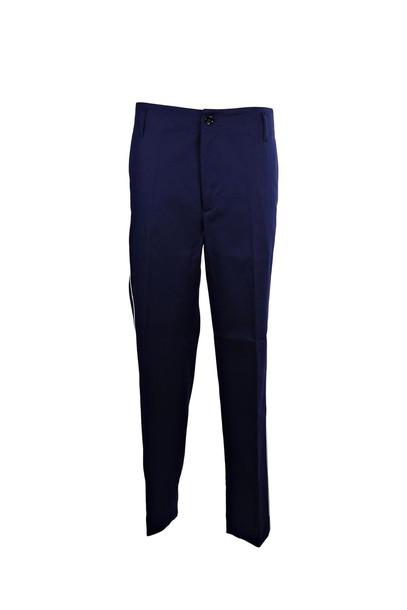 silver blue pants