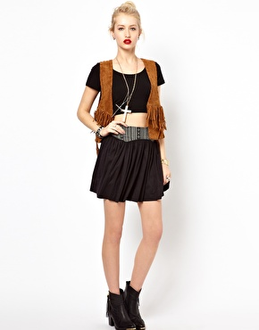Freak of Nature | Freak Of Nature Shoot To Thrill Skirt at ASOS