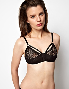 Black Triangle Bra | ASOS