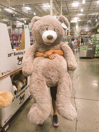 home accessory teddy bear giant teddy bear giant bear giant cute cuddle