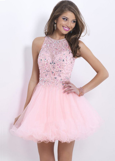 1a255d18483 party dress prom dress pink dress cocktail dress homecoming dress short  party dresses sweet 16 dresses