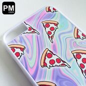 phone cover,pm cases,iphone 4 case,iphone 5 case,iphone 6 case,iphone 6s case,iphone 6 plus,iphone 6s plus case,tumblr,iphone,cover,tie dye,pizza