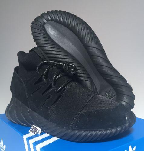 Adidas Tubular Doom Triple Black Ebay