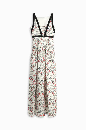 gown embroidered women dress