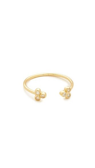 clear ring gold jewels