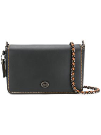 cross women bag leather black