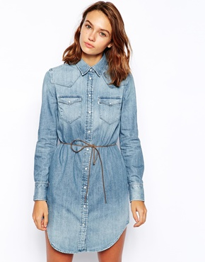 Levis | Levi's Denim Shirt Dress at ASOS