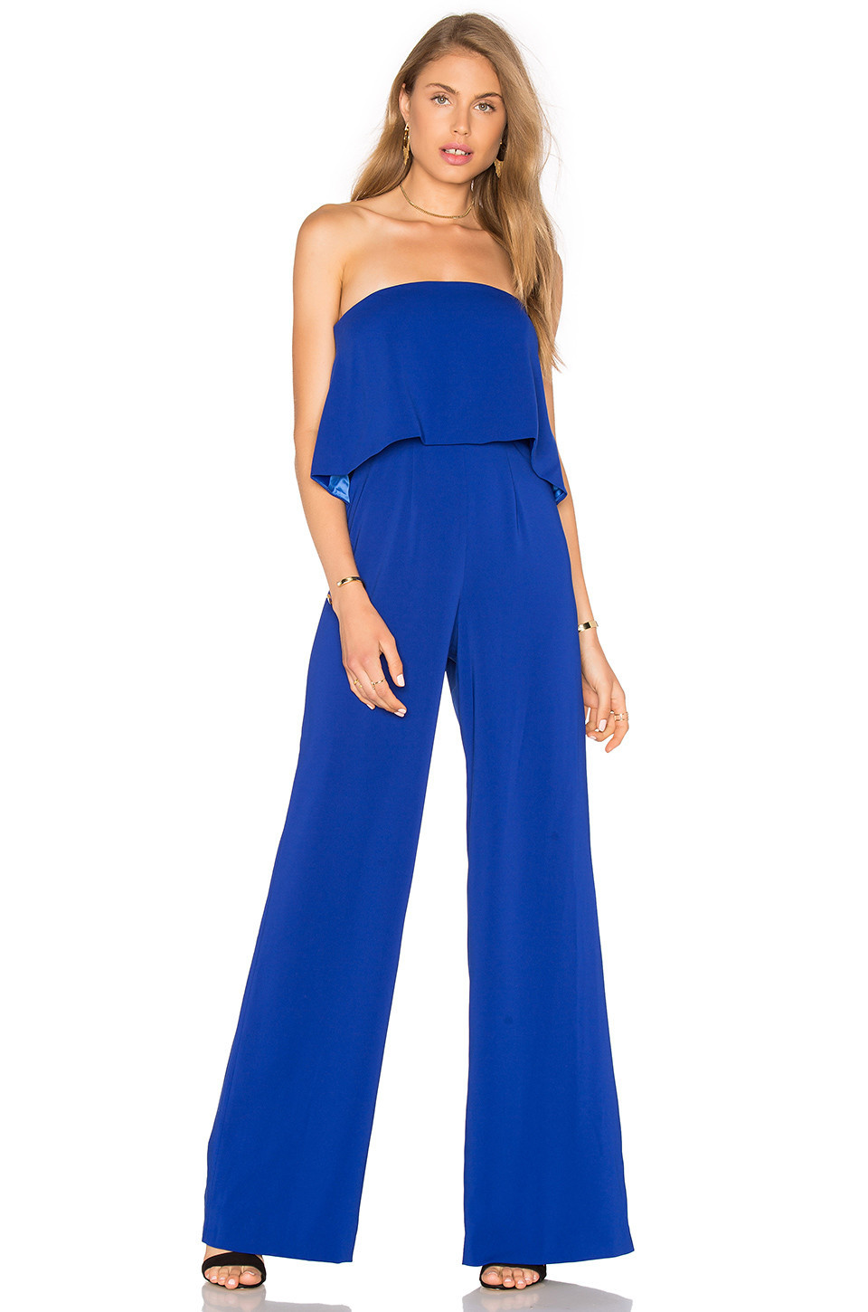 4ada2ff3a58 Jay Godfrey Brin Jumpsuit in white - Wheretoget