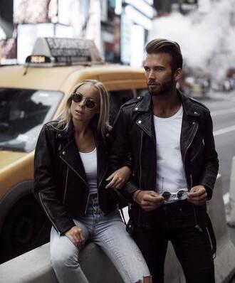 sunglasses black sunglasses jacket black jacket